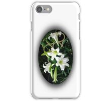 Easter Lilies Fill the Church iPhone Case/Skin