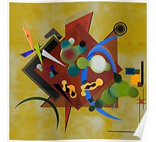 Abstract composition 191 Poster