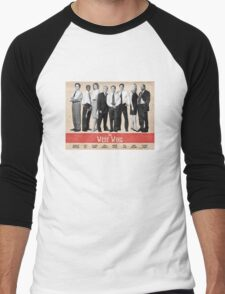 The West Wing Retro Poster Men's Baseball ¾ T-Shirt