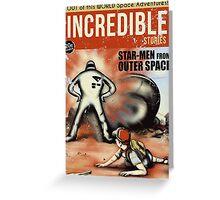 Starman Encounter Greeting Card