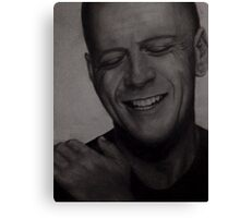 Bruce Willis Wall Art Canvas Print