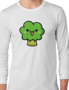 Cute broccoli Long Sleeve T-Shirt