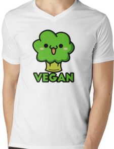 Cute vegan Mens V-Neck T-Shirt