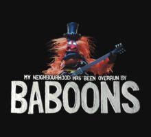 Baboon One Piece - Long Sleeve
