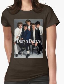 Vintage Duran Duran Womens Fitted T-Shirt