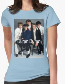 Vintage Duran Duran Womens Fitted T-Shirt