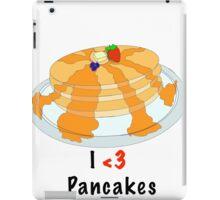 I Love Pancakes  iPad Case/Skin