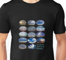 """I've got my head in the clouds..."" Cloud flow chart Unisex T-Shirt"