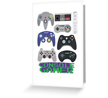 Console Gamer Greeting Card