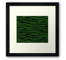 0385 Lincoln Green Tiger Framed Print