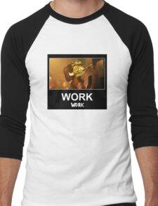 WORK 'Work' ft. Rihanna & WC3 Men's Baseball ¾ T-Shirt
