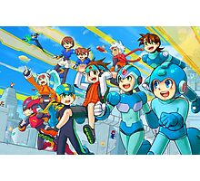 Megaman Megaprint Photographic Print