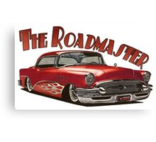 1955 Buick Roadmaster - Red 5 Canvas Print