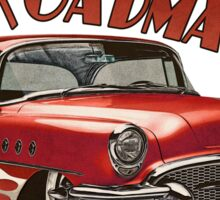 1955 Buick Roadmaster - Red 5 Sticker