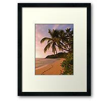 Lukiluki Bay, Fiji Framed Print