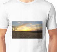 Open Field Sunset Unisex T-Shirt