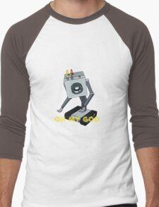 Rick and Morty // Butter Robot Men's Baseball ¾ T-Shirt