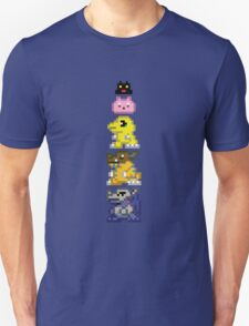 Agumon Line V-Pet Sprites T-Shirt
