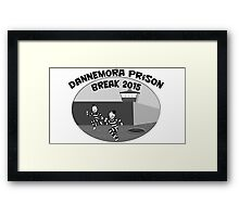 Escape from Dannemora Framed Print