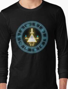 Bill Cipher Wheel Long Sleeve T-Shirt