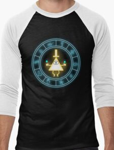 Bill Cipher Wheel Men's Baseball ¾ T-Shirt