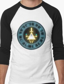Bill Cipher Wheel Men's Baseball ¾ T-Shirt