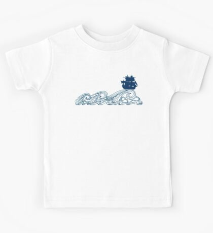 Journey's crest ahoy! Kids Clothes