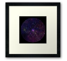 Galaxy Witch Framed Print