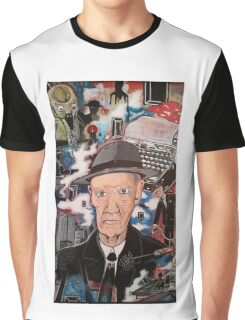 William S. Burroughs. Naked Lunch Graphic T-Shirt