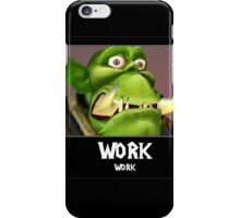 WORK WORK - WC3 iPhone Case/Skin