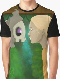 Just a Man and his Pokemon Graphic T-Shirt