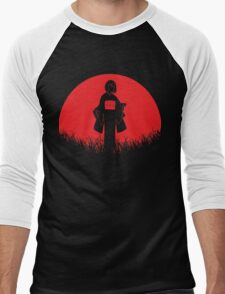Nora Red Moon Noragami Men's Baseball ¾ T-Shirt