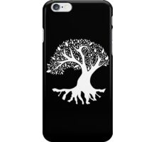 Tree of Peace - White iPhone Case/Skin