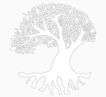 Tree of Peace - White Baby Tee