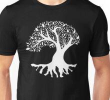Tree of Peace - White Unisex T-Shirt