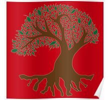 Tree of Peace - Color Poster