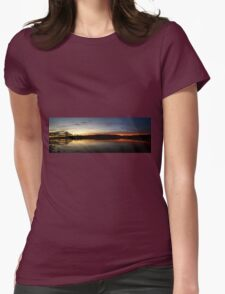 Amazing Sunset Womens Fitted T-Shirt