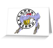 Cowboy Bebop - Red Tail (Old Stamp Style) Greeting Card