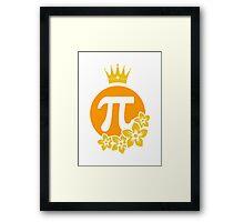 Queen of Pi VRS2 Framed Print