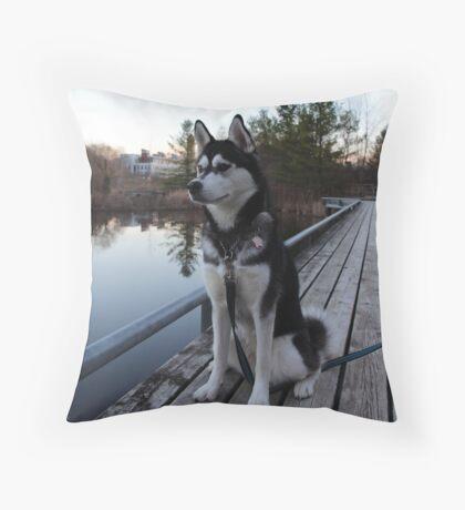 Nymeria Throw Pillow