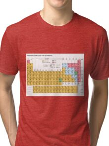 Periodic Table Of The Elements Tri-blend T-Shirt