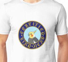 Certified Bird Nerd (Cockatiel) Unisex T-Shirt