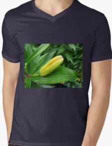 Jealousy - Lily Bud Macro Mens V-Neck T-Shirt