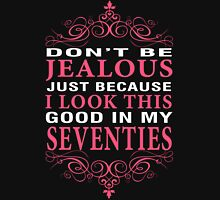 Dont' Be Jealous - 70 Women's Fitted V-Neck T-Shirt