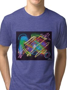 Electric Nights Tri-blend T-Shirt