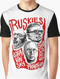 Rusky Composers Graphic T-Shirt
