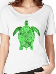 Geometric Turtle 3 Women's Relaxed Fit T-Shirt