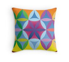 Earthly Heart Throw Pillow