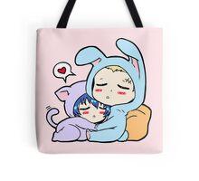 Kannao - Bunny and Cat Tote Bag