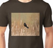 Red Wing And Cattails Unisex T-Shirt